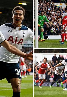 Tottenham 2 - 0 Arsenal: Thất bại ở derby London, Arsenal xa rời tốp 4
