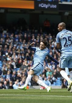 Manchester City 5-0 Crystal Palace: David Silva đạt cột mốc 50 bàn thắng