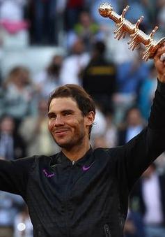 Vô địch Madrid mở rộng 2017, Rafael Nadal lên ngôi số 4 thế giới