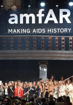 Bữa tiệc gây quỹ amFAR thu được 20 triệu USD ủng hộ nạn nhân HIV/AIDS