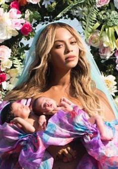 Cặp sinh đôi của Beyonce và Jay Z đã lộ diện