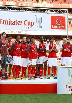 Emirates Cup: Thua Sevilla, Arsenal vẫn lên ngôi vô địch nhờ chỉ số phụ