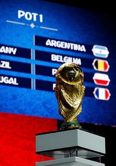 Kết quả bốc thăm VCK World Cup 2018: Tây Ban Nha cùng bảng B với Bồ Đào Nha, ĐT Anh cùng bảng G với ĐT Bỉ