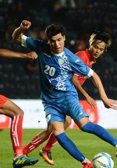 Tổng hợp diễn biến trận đấu U23 Myanmar 2-2 U23 Uzbekistan