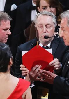 Trao nhầm giải Oscar: Hãng kiểm toán và Viện Hàn lâm đưa ra lời xin lỗi