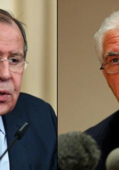 Ngoại trưởng Nga - Mỹ thảo luận về Syria, Ukraine và Trung Đông