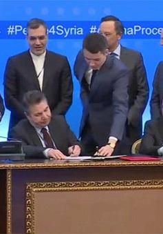 Nga, Thổ Nhĩ Kỳ và Iran ký bản ghi nhớ về thiết lập vùng an toàn ở Syria