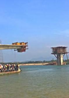 Quảng Nam: Chuẩn bị khánh thành cầu vượt sông Thu Bồn
