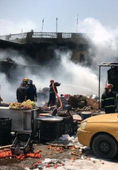 Đánh bom đẫm máu tại khu chợ sầm uất ở thủ đô Iraq