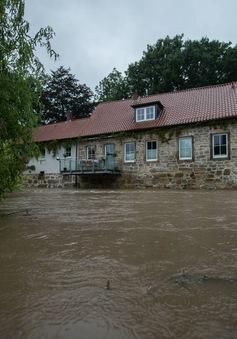 Ngập lụt tại miền Bắc nước Đức, sẵn sàng sơ tán người dân