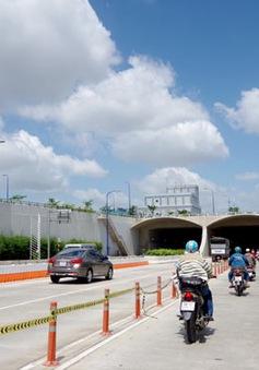 TP.HCM: Cho xe máy lưu thông từ 4h - 23h qua đường hầm sông Sài Gòn