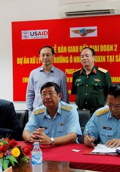 Bộ Quốc phòng bàn giao đất đã xử lý sạch dioxin ở sân bay Đà Nẵng