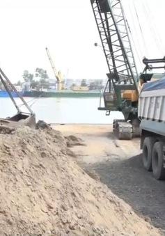 Gian nan xử lý tình trạng khai thác cát trái phép