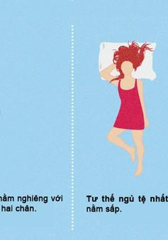 Tư thế ngủ tốt nhất và tệ nhất bạn cần biết