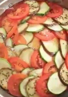 Đổi món cơm gia đình với rau củ nướng kiểu Pháp