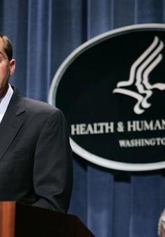 Tổng thống Mỹ đề cử tân Bộ trưởng Bộ Y tế và Dịch vụ con người