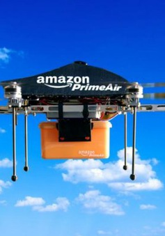 Amazon giao hàng bằng cách thả dù