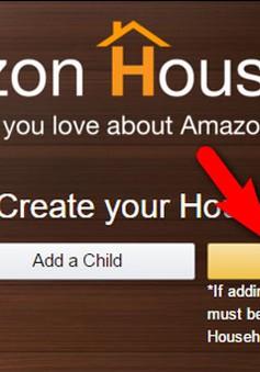 Amazon giúp phụ huynh kiểm soát con em mua sắm trực tuyến