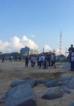 Tìm thấy thi thể học sinh bị sóng đánh chìm ở biển Thiên Cầm, Hà Tĩnh