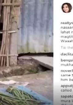 Mạng xã hội lan tỏa tình yêu thương tại Philippines