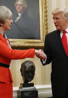 Lãnh đạo Mỹ, Anh điện đàm về các vấn đề quốc tế nóng