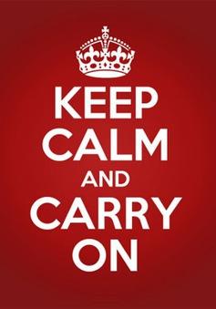 """Câu chuyện về logo """"Keep Calm"""" nổi tiếng của Anh"""