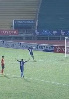 Vòng 2 V.League 2017, Long An 1-1 B. Bình Dương: Chia điểm khó tin