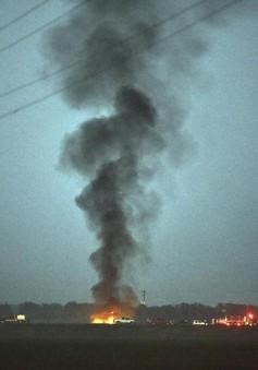 Tìm thấy 16 thi thể trong vụ rơi máy bay quân sự tại Mỹ