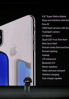 Ra mắt iPhone X, giá trị vốn hóa thị trường của Apple vọt lên 830 tỷ USD