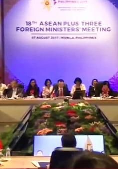 Thúc đẩy hợp tác ASEAN+3, cấp cao Đông Á