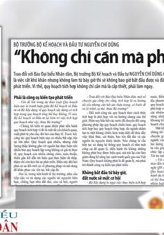 """Bộ trưởng Bộ KH&ĐT Nguyễn Chí Dũng: """"Quy hoạch tích hợp là cấp thiết"""""""