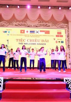 Buổi giao lưu trước ngày tranh tài VTV Cup Tôn Hoa Sen 2017
