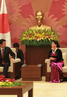 Chủ tịch Quốc hội đề nghị Nhật Bản duy trì ODA hỗ trợ Việt Nam