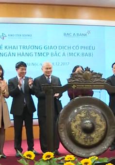 Ngân hàng TMCP Bắc Á lên sàn UPCoM với 500 triệu cổ phiếu