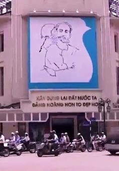 """Thông điệp hòa bình của bức tranh """"Bác Hồ và em bé"""""""