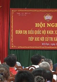 Cử tri Bắc Ninh đề nghị Quốc hội có giải pháp quyết liệt ngăn chặn tham nhũng, lãng phí