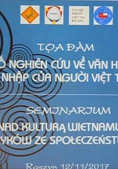 """""""Một số nghiên cứu về văn hóa Việt Nam và sự hội nhập của người Việt tại Ba Lan"""""""