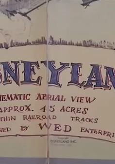 Bản đồ vẽ tay của Walt Disney được bán mức giá kỷ lục
