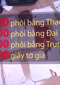 Những con số giật mình trong đường dây làm giấy tờ giả tại Hà Nội