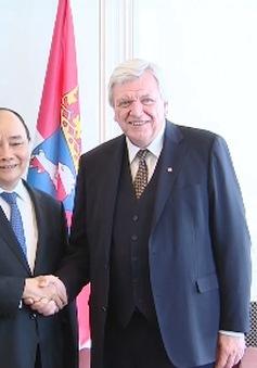 Thủ tướng hội kiến Thủ hiến và Chủ tịch Quốc hội bang Hessen, Đức