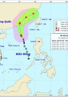 Bão số 1 hướng vào Trung Quốc, nam Biển Đông tiếp tục có mưa