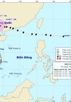 Bão số 6 đi sâu vào đất liền, suy yếu dần thành áp thấp nhiệt đới