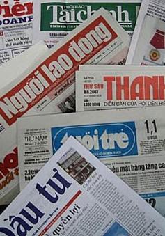 Đồng hành với sự nghiệp của Đảng: Vinh dự, trách nhiệm của báo chí