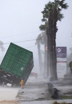 Houston ban bố giới nghiêm vào ban đêm sau bão Harvey