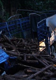 Tai nạn liên hoàn tại đèo Bảo Lộc (Lâm Đồng)