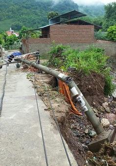 Ngành điện Sơn La khắc phục hậu quả mưa lũ