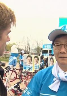 Ứng viên Tổng thống Hàn Quốc vận động tranh cử kiểu K-pop