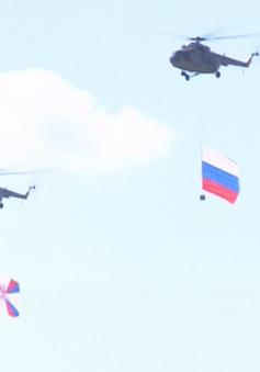 Trình diễn máy bay kỷ niệm 105 năm ngày thành lập lực lượng không quân Nga