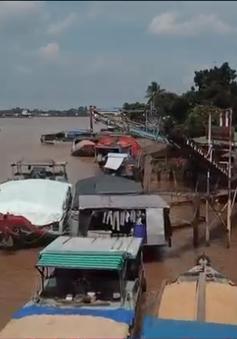 Hàng trăm bến thủy hoạt động không phép tại ĐBSCL