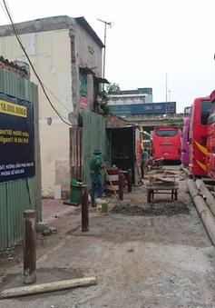 Khắc phục phiền hà cho khu dân cư gần Bến xe Nước Ngầm